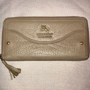Vintage Burberry Blue Label long wallet